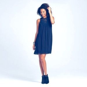 Xhilaration Tops - Women's Victorian Sleeveless Shift Dress Teal L